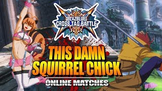 THIS DAMN SQUIRREL CHICK: WEEK OF! BlazBlue Cross Tag Battle