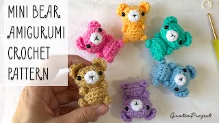 Mini Bear Amigurumi Crochet Pattern
