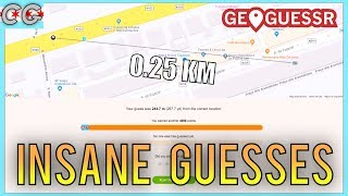 Geoguessr   Insane Guess Compilation #1   Chicago Geographer