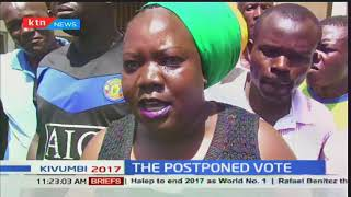 Running battles, police shooting and cancellation of repeat poll report in Kisumu county
