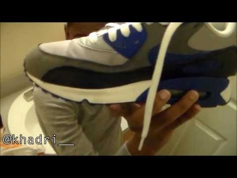 How to Remove Creases on Nike Air Max 90 | Sneaker Restoration