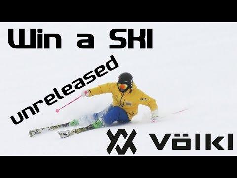 Ski Carving the new Volkl DEACON ski Reilly McGlashan