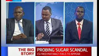 Joint committee begins probe into sugar scandal I The Big Story (Part 2)