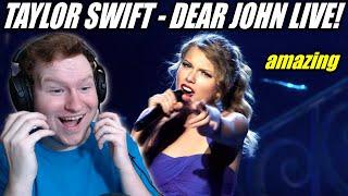 Taylor Swift - Dear John Live Performance REACTION!!!!