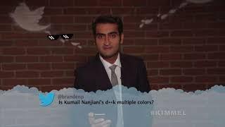 Kumail Nanjiani Savage AF   Jimmy Kimmel Celebs Read Mean Tweets!