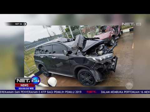 Bupati Demak Alami Kecelakaan di Tol Batang - Semarang NET24