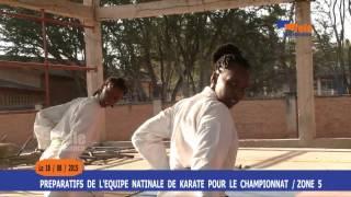 Karaté : l'équipe burundaise se prépare à la compétition de la zone 5