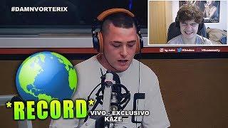 REACCIONANDO Al RECORD MUNDIAL De KAZE En DAMN!