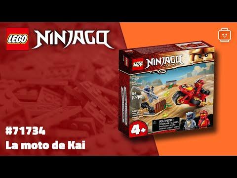 Vidéo LEGO Ninjago 71734 : La moto de Kai