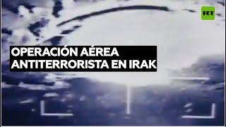CAZAS IRAQUIES ATACAN A TERRORIASTAS DE EI