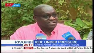 Thirdway Alliance presidential flag bearer Ekuru Aukot challenges IEBC commissioners to step-down