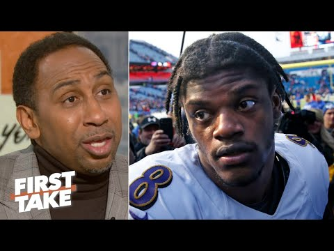 Lamar Jackson's quad injury is more concerning than Patrick Mahomes' hand - Stephen A. | First Take