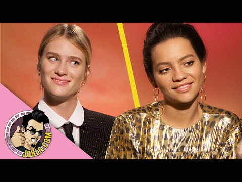 Mackenzie Davis & Natalia Reyes Interview for Terminator: Dark Fate