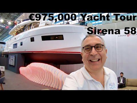 €975,000 Yacht Tour : Sirena 58