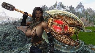 Skyrim mods Wildhunt Armor and Ogre Killer