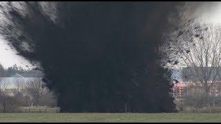 preview picture of video 'Bombensprengung in Bremen-Habenhausen'