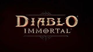 Diablo Immortal - мобильная игра в жанре ММО. Запись на бета-тест