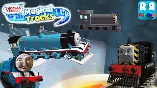 Mavis And Gordon Jump Over Lava | Thomas and Friends: Magical Tracks - Kids Train Set