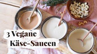 Vegane Käse-Sauce   Basics & 3 Rezepte    Super einfach   heylilahey