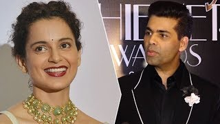 Karan Johar's SHOCKING REACTION On Kangana Ranaut On His Show | Bollywood Buzz