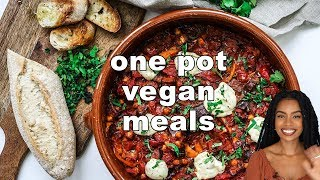 EASY ONE POT MEALS | vegan