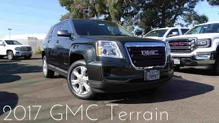 2017 GMC Terrain 2.4 L 4-Cylinder Review