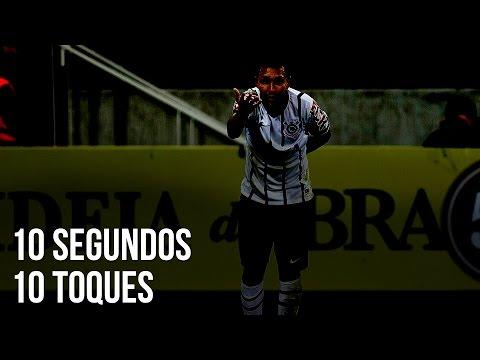 10 segundos, 10 toques | Gol do Corinthians