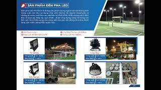 Giới thiệu về sản phẩm đèn của POTECH