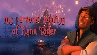 Personal Ranking : Flynn Rider (44 Voices)