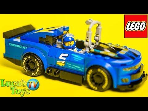 Speed Champions 2019 Lego Chevrolet Camaro Zl1 Speed Build And