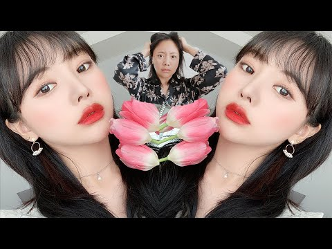 ????봄나들이 못가서 미치기 일보 직전 메이크업????  :: Spring Red Makeup
