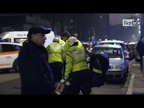 Milano, incidente in azienda metalmeccanica: le immagini dei soccorsi