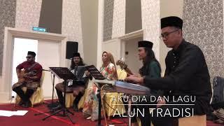 """Video thumbnail of """"Aku Dia Dan Lagu - Wann Rashidah (cover by Alun Tradisi)"""""""