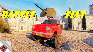 World of Tanks - Modding Madness   BATTLE FIAT! (WoT Mod, Fiat Bojowy)
