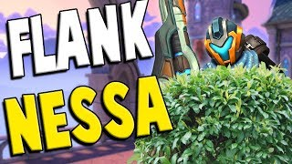 Paladins: FLANKNESSA COMING IN HOT