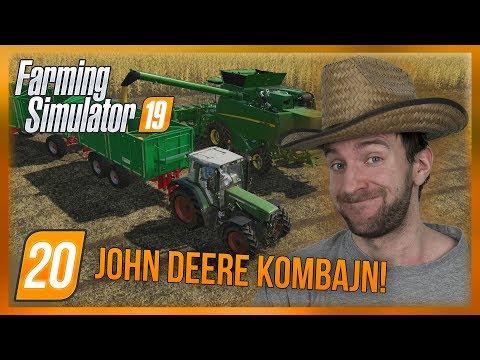 JOHN DEERE KOMBAJN! | Farming Simulator 19 #20