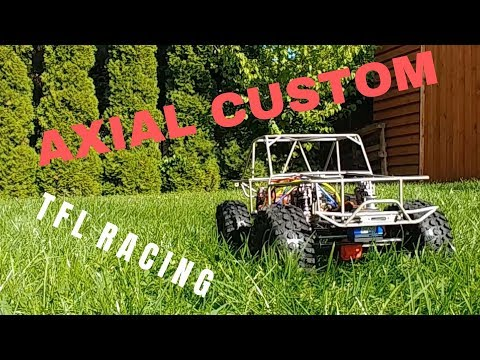 Axial SCX10 II RAW KIT + TFL C1508 Bronco