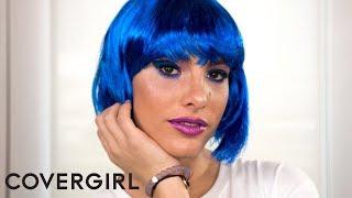Lele Pons Presents: Galaxy Girl Halloween Makeup Tutorial | COVERGIRL