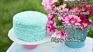 August 1 | Happy Birthday 🎂 Birthday Wishes♫ Birthday Song🎉whatsapp Happy Birthday Status Video