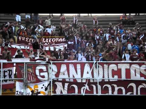 """Granadictos 24 en Valera | 9na Jornada TA2013"" Barra: Granadictos • Club: Carabobo"