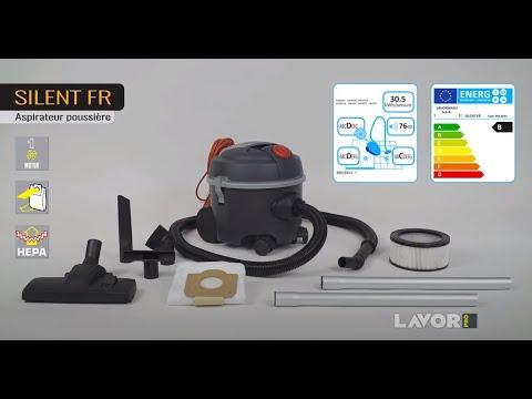 Пылесос для сухой уборки LAVORPRO SILENT FR Video #1