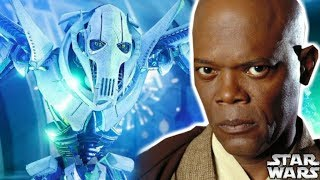 Why Mace Windu REFUSED To Duel General Grievous - Star Wars Explained