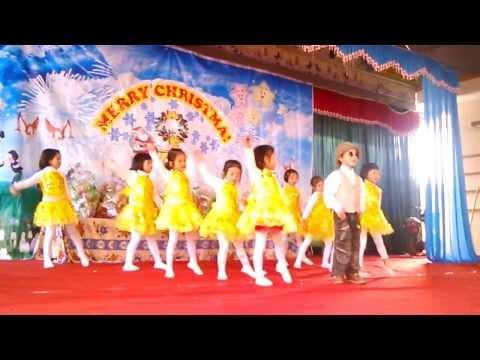 Múa Gangnamstyle của các bé lớp MG5T