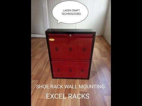 Wall Mounting Shoe Rack