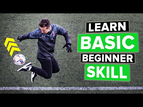 Learn BEGINNER skills – even players who can't juggle can do this!