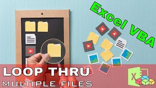 Excel VBA - Loop Through Multiple Files In A Folder And Scrape Data From Each