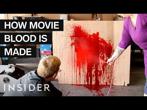 Movie Experts Show You How to Make Fake Blood