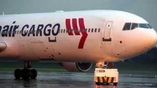 preview picture of video 'Preparando el MD-11 de Martinair para salir de Bogotá'