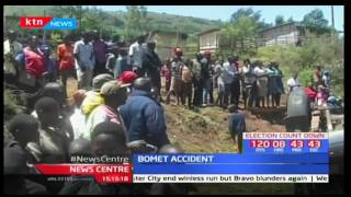 11 passengers narrowly escape death after matatu loses control in Bomet