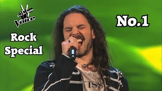 The Voice - Best Rock/Metal Blind Auditions Worldwide (No.1)